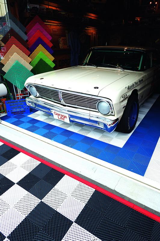 FORD FALCON ปี '65 ที่กลายเป็นสเป็กของ Stock Car คุณซากาโมโต ทำเป็นสไตล์รถแข่งยุคปี 1960 ที่เขาอยากได้ด้วย