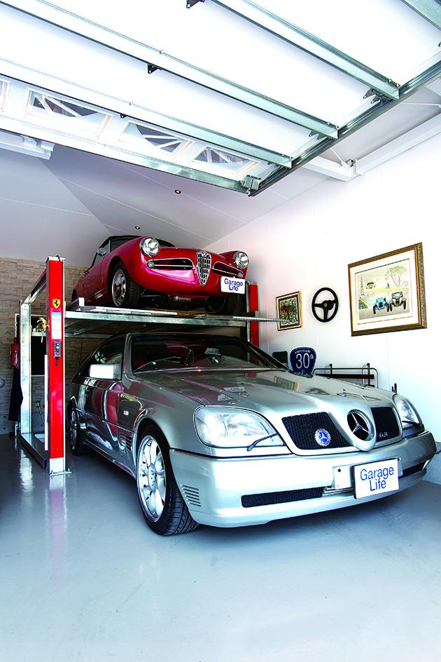 Shooting Break สีเงิน เป็นโมเดลพิเศษที่ดัดแปลงจาก Mercedes-Benz W140 Type Coupe ซึ่งผลิตออกมา เพียง 3 คัน ปัจจุบันเหลือคันนี้คันเดียว