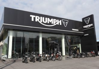 TRIUMPH Motorcycles Showroom